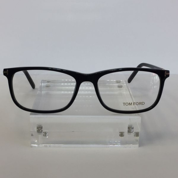 5292b9fa0e Tom Ford FT 5398 001 Black Plastic Eyeglasses 55mm